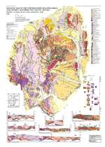 Geologic map of the northeastern Bullfrog Hills and vicinity, southern Nye County, Nevada ROLLED MAP ONLY, NO TEXT