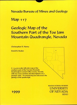 Geologic map of the southern part of the Toe Jam Mountain quadrangle, Nevada MAP AND TEXT