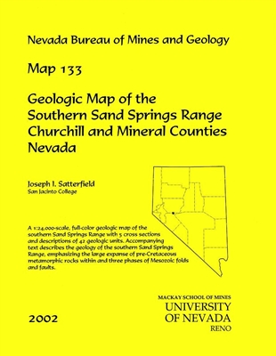 Geologic map of the southern Sand Springs Range, Churchill and Mineral counties, Nevada MAP AND TEXT