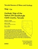 Geologic map of the Nelson SW quadrangle, Clark County, Nevada MAP AND TEXT