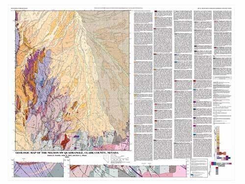 Geologic map of the Nelson SW quadrangle, Clark County, Nevada ... on