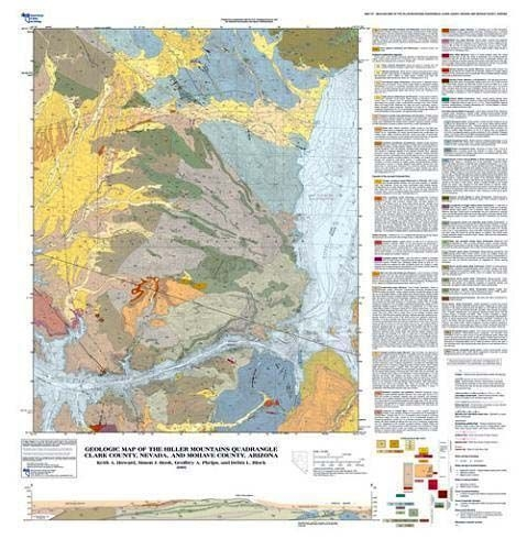 Geologic map of the Hiller Mountains quadrangle, Clark County ...
