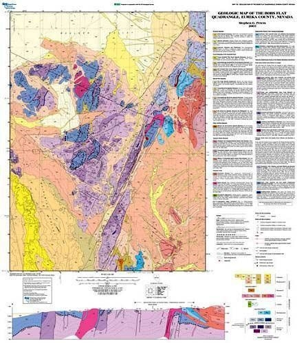 Geologic map of the bobs flat quadrangle eureka county nevada map geologic map of the bobs flat quadrangle eureka county nevada map and text gumiabroncs Image collections