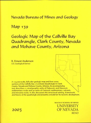 Geologic map of the Callville Bay quadrangle, Clark County, Nevada and Mohave County, Arizona MAP AND TEXT