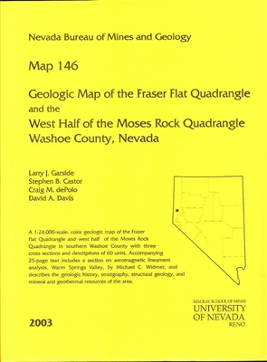 Geologic map of the Fraser Flat quadrangle and the west half of the Moses Rock quadrangle, Washoe County, Nevada MAP, TEXT, AND DESCRIPTION OF MAP UNITS
