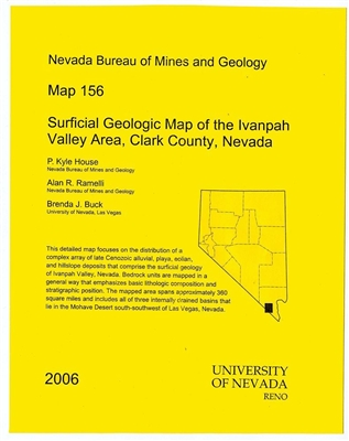 Surficial geologic map of the Ivanpah Valley area, Clark County, Nevada