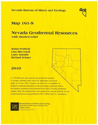 Nevada geothermal resources WITH SHADED RELIEF BASE, HALF SIZE