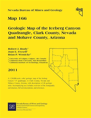 Geologic map of the Iceberg Canyon quadrangle, Clark County, Nevada and Mohave County, Arizona MAP ONLY