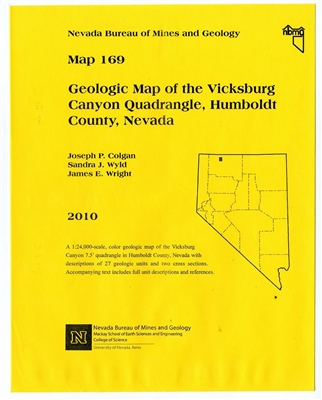 Geologic map of the Vicksburg Canyon quadrangle, Humboldt County, Nevada MAP AND TEXT