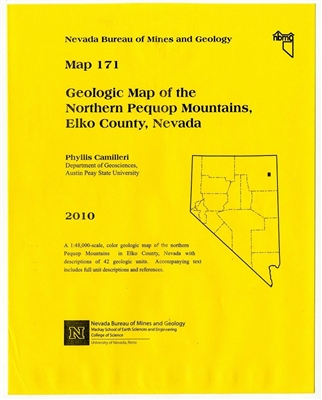 Geologic map of the northern Pequop Mountains, Elko County, Nevada MAP AND TEXT
