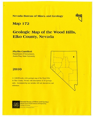Geologic map of the Wood Hills, Elko County, Nevada MAP AND TEXT
