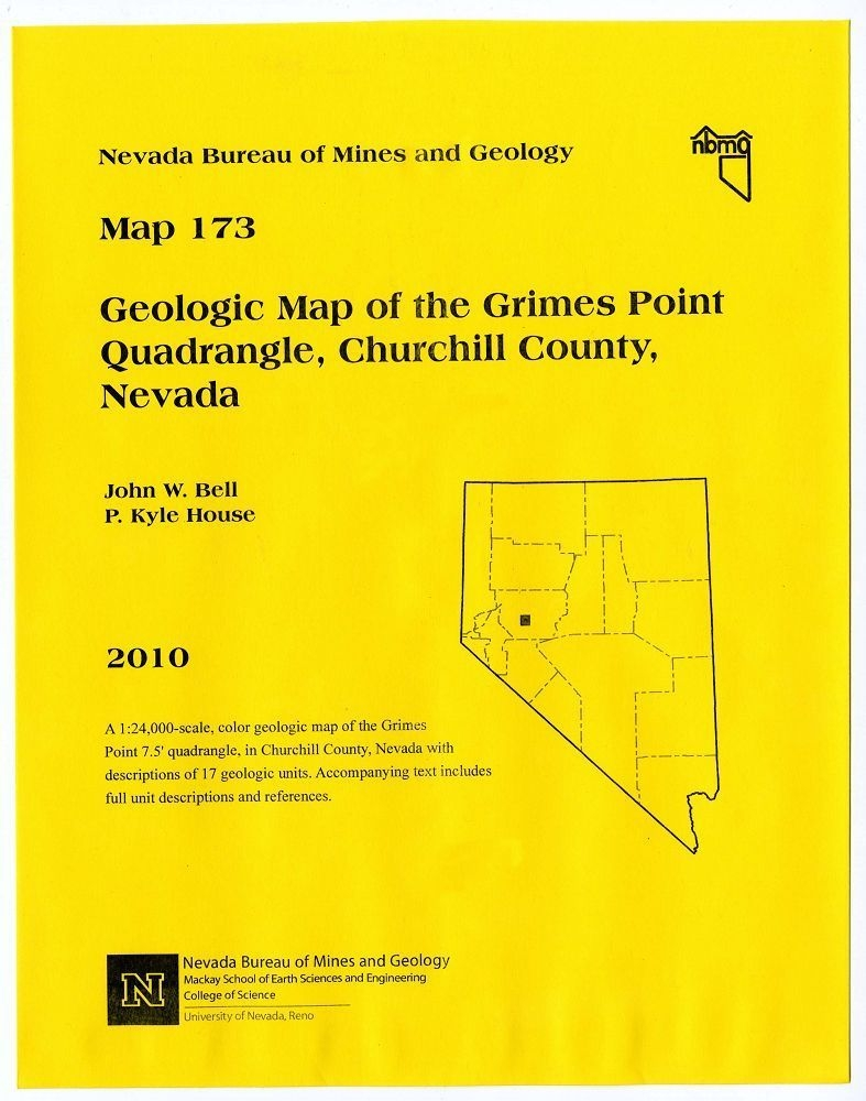 Geologic map of the Grimes Point quadrangle, Churchill County, Nevada  [COMPLETE DIGITAL PRODUCT WITH GIS]