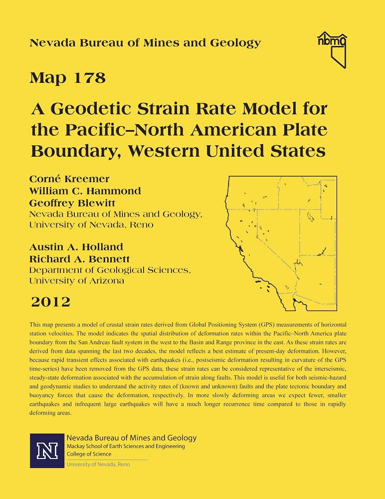A geodetic strain rate model for the Pacific–North American plate ...