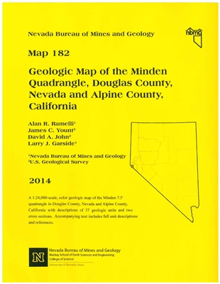 Geologic map of the Minden quadrangle, Douglas County, Nevada and Alpine County, California MAP AND TEXT