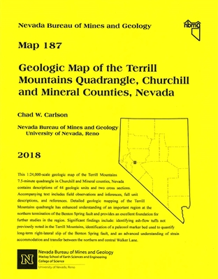 Geologic map of the Terrill Mountains quadrangle, Churchill and Mineral counties, Nevada MAP AND TEXT