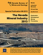 The Nevada mineral industry 2013