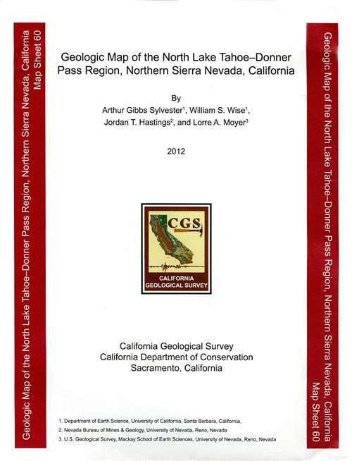 California Geological Survey Maps on