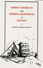 Mining districts and mineral resources of Nevada