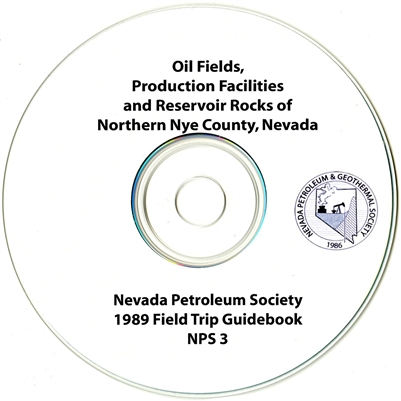 Oil fields, production facilities and reservoir rocks of northern Nye County, Nevada CD-ROM