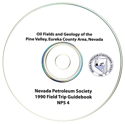 Oil fields and geology of the Pine Valley, Eureka County Area, Nevada CD-ROM