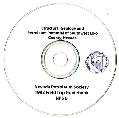 Structural geology and petroleum potential of southwest Elko County, Nevada CD-ROM
