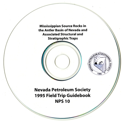 Mississippian source rocks in the Antler Basin of Nevada and associated structural and stratigraphic traps CD-ROM