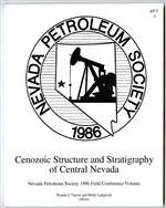 Cenozoic structure and stratigraphy of central Nevada BOOK