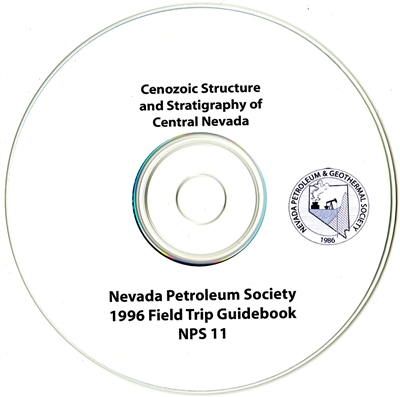 Cenozoic structure and stratigraphy of central Nevada [CD-ROM]