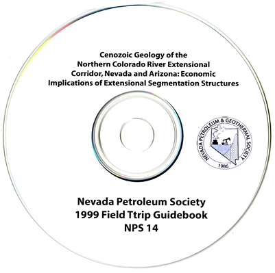 Cenozoic geology of the northern Colorado River extensional corridor, Nevada and Arizona: economic implications of extensional segmentation structures CD-ROM