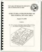 Structure & stratigraphy of the Eureka, Nevada area BOOK