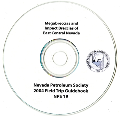 Megabreccias and impact breccias of east central Nevada CD-ROM