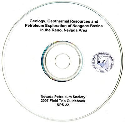 Geology, geothermal resources and petroleum exploration of Neogene basins in the Reno, Nevada area (second edition) CD-ROM