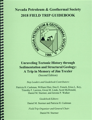 Unraveling tectonic history through sedimentation and structural geology: A trip in memory of Jim Trexler (second edition) COIL BOUND