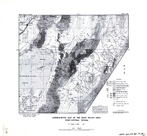 Aeromagnetic map of the Dixie Valley area, west-central Nevada