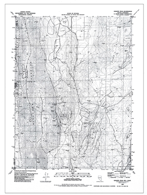 Reconnaissance geologic map of the Granite Peak quadrangle, Nevada SUPERSEDED BY OPEN-FILE REPORT 2019-05