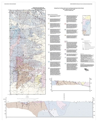 Geologic map of the western half, Fourth of July Mountain quadrangle, southern Nevada SEE ALSO OPEN-FILE REPORT 12-8