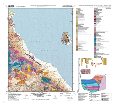 Preliminary geologic map of the Sutcliffe quadrangle, Nevada (second edition)