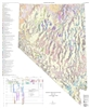 Geologic terrane map of Nevada PLATES 1 AND 2