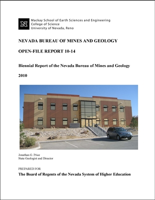Biennial report of the Nevada Bureau of Mines and Geology 2008?Çô2009