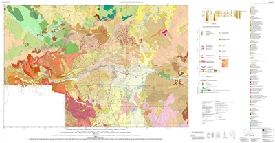 Preliminary revised geologic maps of the Reno urban area, Nevada 3 PLATES