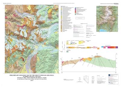 Preliminary geologic map of the Mount Rose quadrangle, Washoe County, Nevada MAP AND TEXT