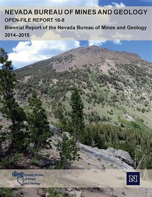 Biennial report of the Nevada Bureau of Mines and Geology, 2014-2015