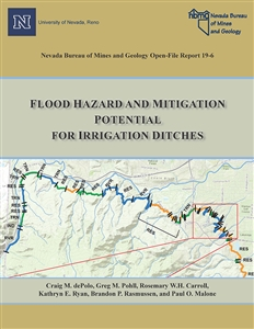 Flood hazard and mitigation potential for irrigation ditches