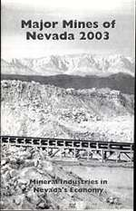 Major mines of Nevada 2003: Mineral industries in Nevada's economy