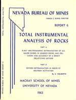 Total instrumental analysis of rocks OUT OF PRINT--CALL FOR PHOTOCOPY