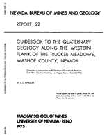 Guidebook to the Quaternary geology along the western flank of the Truckee Meadows, Washoe County, Nevada