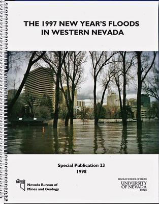 The 1997 New Year's floods in western Nevada BOOK AND PLATE