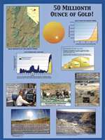50 millionth ounce of gold! POSTER