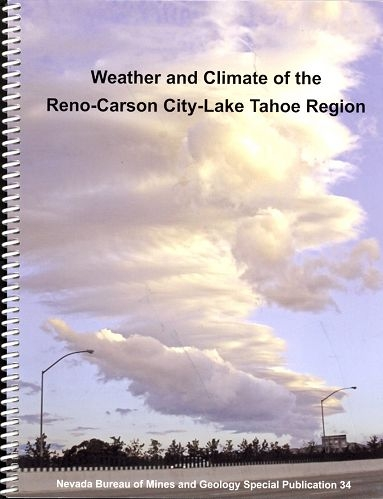Weather And Climate Of The Reno Carson City Lake Tahoe Region