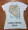 Ladies' short-sleeved T-shirt